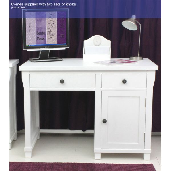 Vermont Single Pedestal Computer Desk