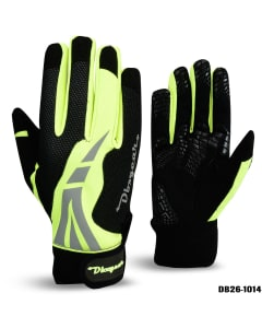 Wind Stopper Hi-Viz Cycling Gloves