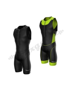 Men's Triathlon Suit Cycling Running Swimming Compression Tri Skinsuit