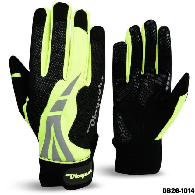 Wind Stopper Hi-Viz Cycling Gloves
