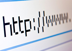 web address pointing to useful links