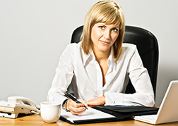 Image of an HR manager