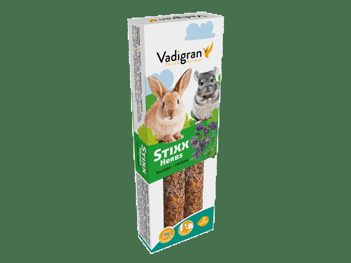 Snack StixX rabbit & chinchilla with herbs
