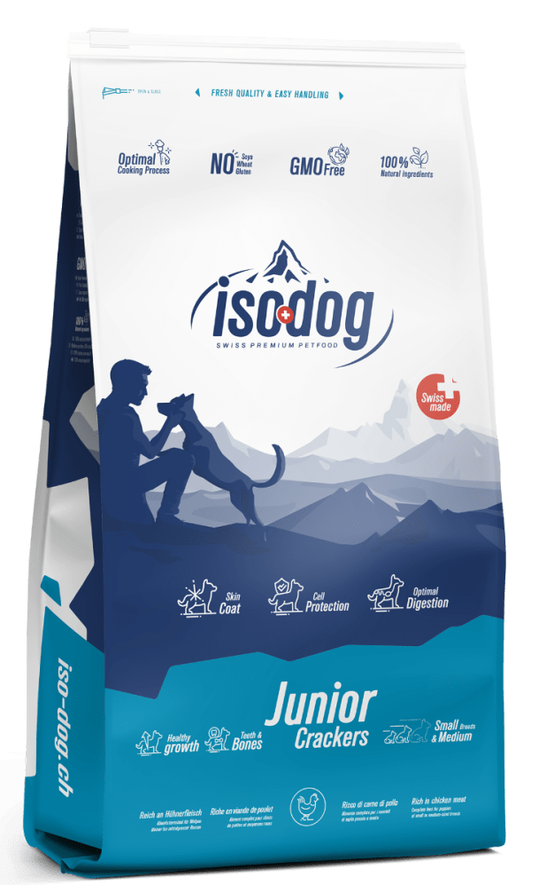 Iso-dog JUNIOR Crackers Small & Medium