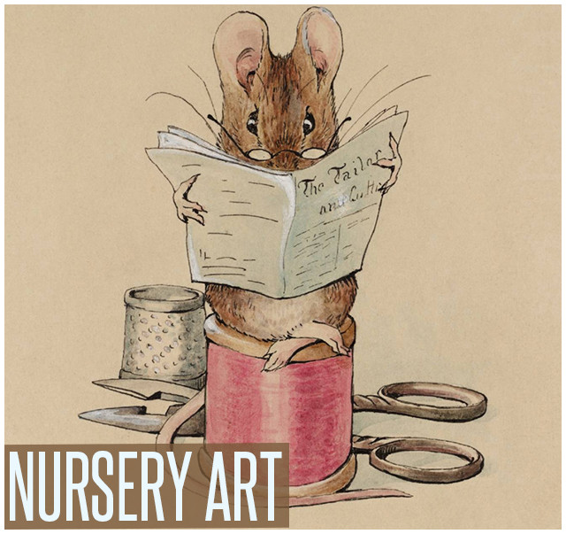 Shop prints of nursery art