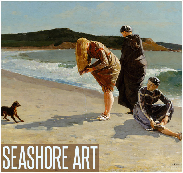 Shop Prints of Seashore Art
