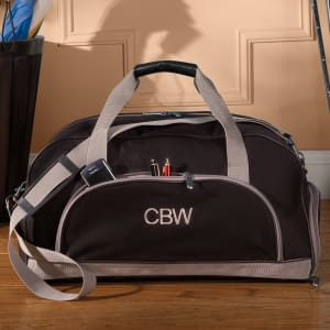 Duffle Bag With Separate Shoe Storage