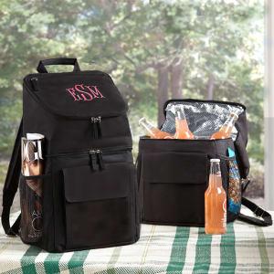Black Backpack Cooler