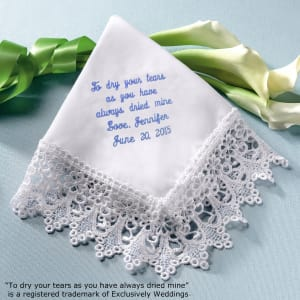 To Dry Your Tears... Venise Lace Hanky