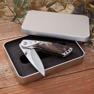 Deluxe Camouflage Lock-Back Knife