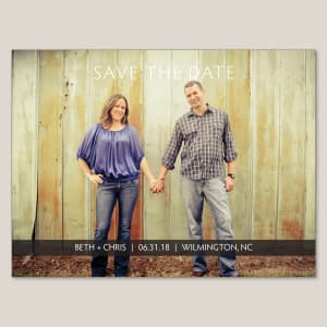 Sweet Emotion Save the Date Magnet