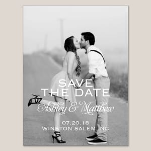 Love Connection Save the Date Magnet