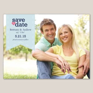 Cherished Romance Save the Date Magnet