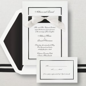 Simplicity Wedding Invitation