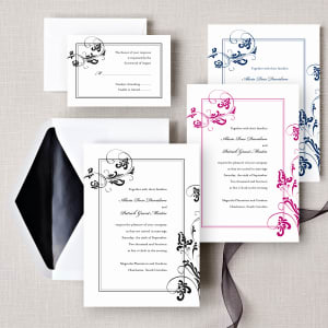 Flourishing Love Wedding Invitation