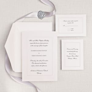 Manhattan Wedding Invitation