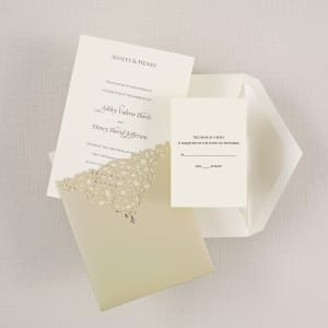Victorian Bliss Wedding Invitation