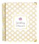 Bloom 18-Month Wedding Planner, Gold Scallops