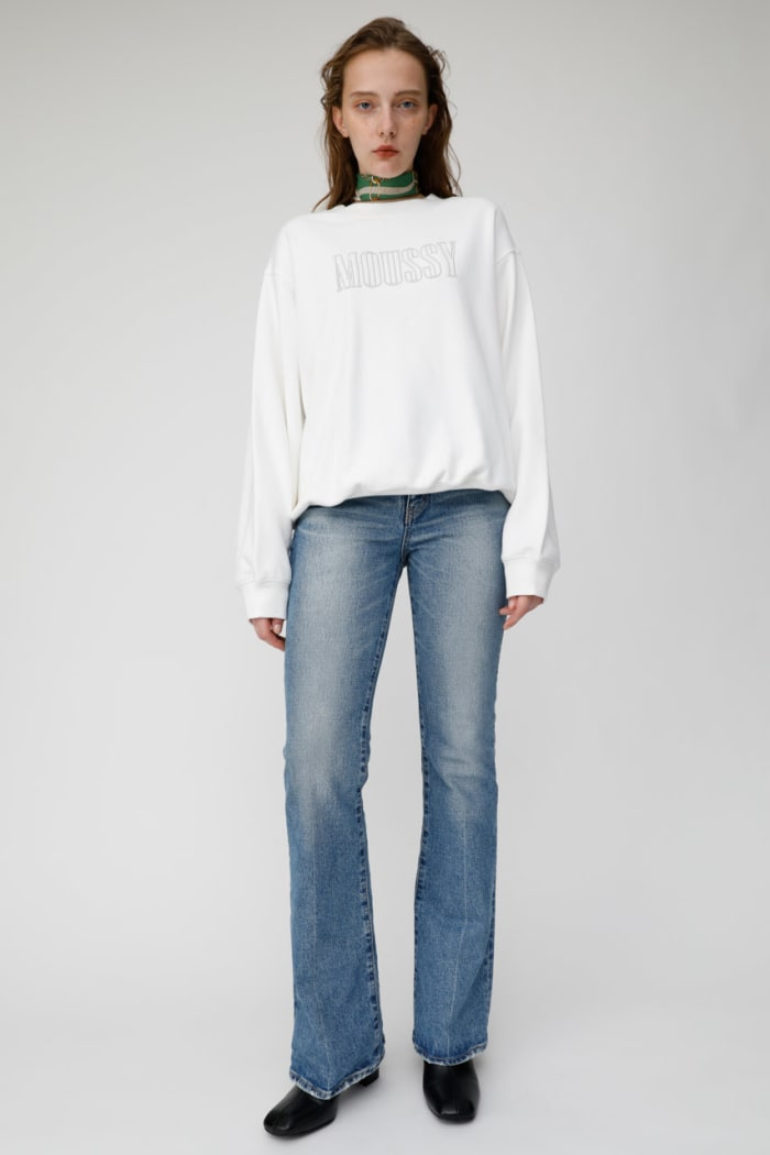 MOUSSY EMBROIDERY pullover