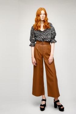 DYE FLOWER blouse