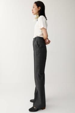 CHECK FLARE Pants