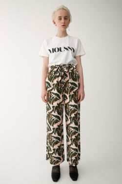 MOUSSY LETTERED T-shirt