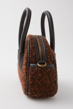 TWEED MINI BOSTON Bag