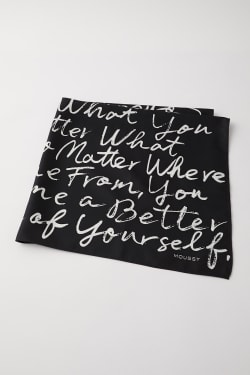 HANDWRITING SCARF