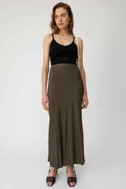 FRONT BUTTON KNIT RIB camisole