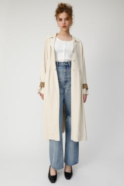 WAIST TUCK LONG COAT