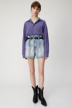 HIWAIST BELTED Shorts