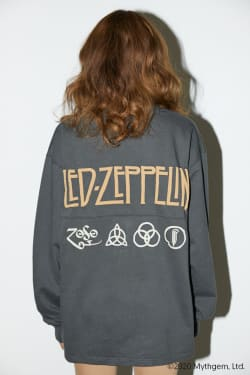 LED ZEPPELIN BACK LOGO LONG SLEEVE TEE