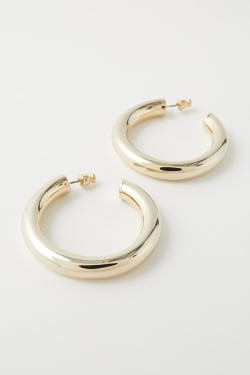 VOLUME HOOP EARRINGS