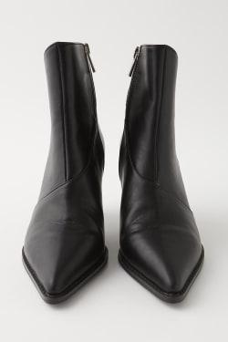 CONE HEEL SHORT boots