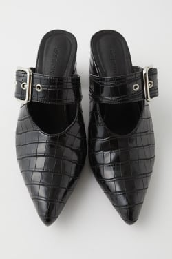 BELTED mules