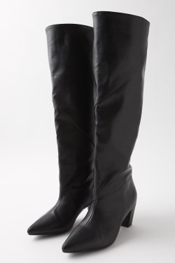 LOOSE FIT LONG boots