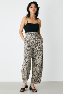 HIGH WAIST COCOON PANTS