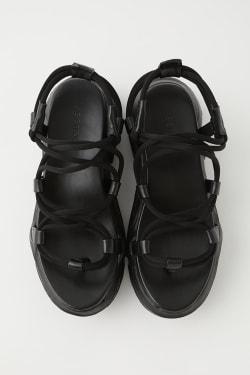 STRING DESIGN CHUNKY sandals
