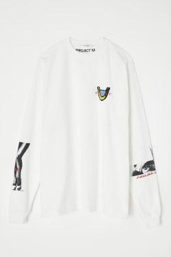 PROJECT U CHARM EYED LONG T-shirt