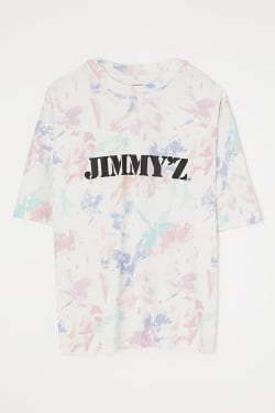 JIMMY'Z Z CAR PATTERN T-SHIRT