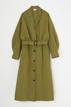 LAYERED OVER coat