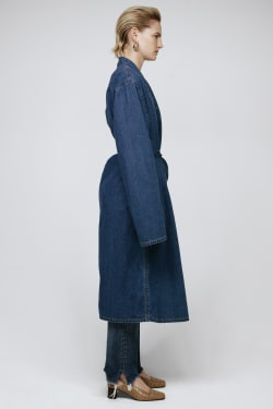 MV Loose Denim Gown Jacket