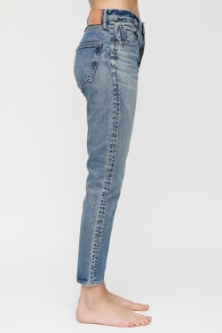 MV Kepner High Waisted Tapered Jeans