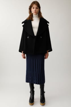 BIG COLLAR SHORT coat