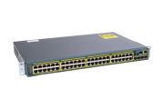 Cisco Catalyst WS-C2960S-48TS-L Switch LAN Base License, Port-Side Air Intake