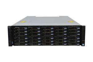 Dell Compellent SC7020 with 10Gb/s iSCSI SFP+ Controllers 30 x 2.4TB SAS 12G