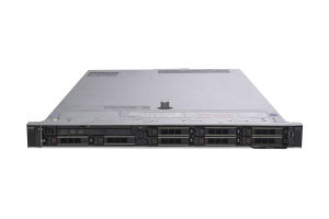 "Dell PowerEdge R640 1x8 2.5"", 2 x Silver 4210 2.2GHz Ten-Core, 32GB RAM, 6 x 1TB SATA, 2 x 300GB SAS, PERC H740P, iDRAC9 Express"