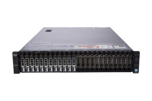 "Dell PowerEdge R730xd 1x24 2.5"", 2 x E5-2695 v3 2.3GHz Fourteen-Core, 256GB, 12 x 1.8TB SAS, PERC H730, iDRAC8 Enterprise"