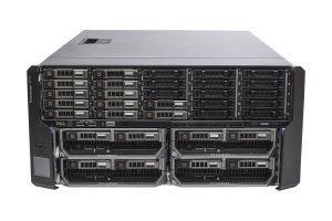 Dell PowerEdge VRTX 1x25 - 12 x 1.2TB SAS 10k, 4 x M630, 2 x E5-2650 v3, 128GB, 2 x 400GB SAS SSD, PERC H730, iDRAC8 Enterprise