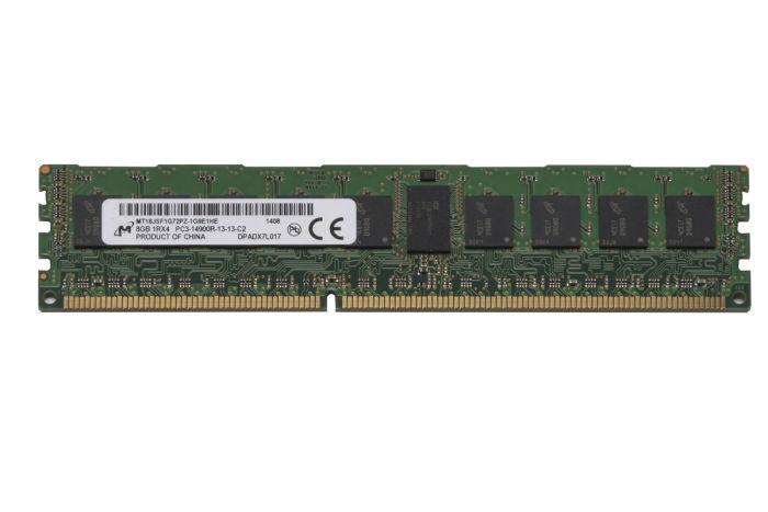 Micron 8GB PC3-14900R MT18JSF1G72PZ-1G9E1HE Ref